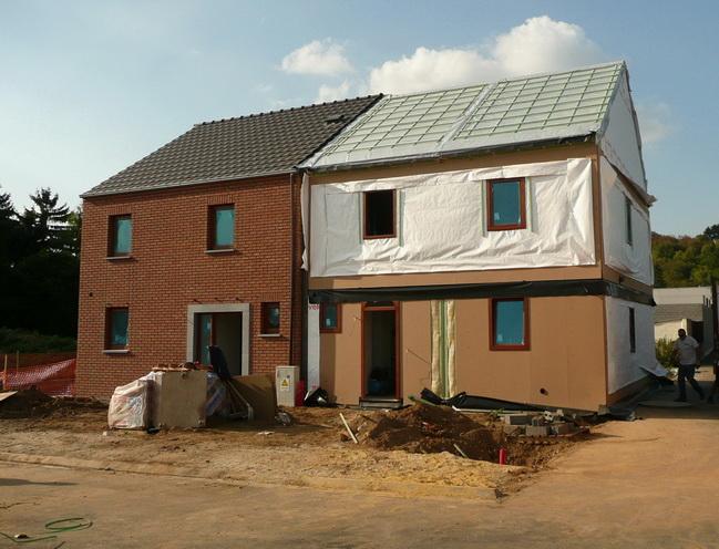 Sa pomerol maison vendre ossature bois 2 acheter une maison basse nergie - Economiser construction maison ...